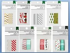 American Crafts Washi Tape CHRISTMAS WASHI TAPE BUNDLE ~16 Rolls, 10 yds Each