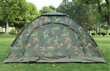 Camo Outdoor Camping Waterproof 2 Person 4 Season Folding Tent Camouflage Hiking