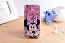 TPU back cover Minnie Mouse Print Soft Cartoon Case for iPhone 6s/6 Cover Skin