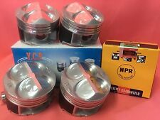 YCP B16 JDM CTR 82mm High Comp. Pistons + NPR Rings Acura Honda Civic Type R