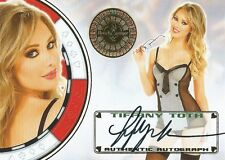 (HCW) 2012 Bench Warmer Vegas Baby TIFANY TOTH Autograph Auto Card