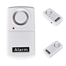 Wireless Home Security Remote Control Vibration Alarm Window Door Glass WACA