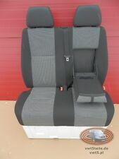 Crafter neues Modell 2009-2013 VW Beifahrerbank  Doppelsitzbank Timo Anthrazit