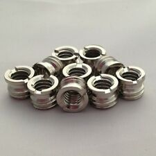 "3/8"" to 1/4"" Camera / Monopod / Tripod Screws Adaptor Bushing Bushes X10"