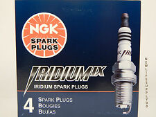 NGK 6046 Iridium Spark Plugs DCPR7EIX  -------  4 PCS *NEW* == Made IN Japan