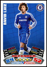 David Luiz Chelsea #79 Topps Match Attax Football 2011-12  Card (C208)
