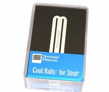 SCR-1n Seymour Duncan White Cool Rails Neck/Mid Pickup For Strat 11205-06-W
