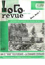 "LOCO REVUE N°258 CC ""JOUEF"" / COMMANDE CENTRALISEE / RESEAU ""DB MODELL 66"""
