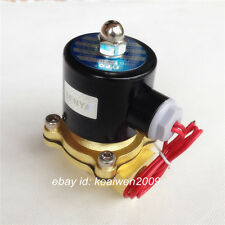 """1/2"""" BSP ELECTRIC SOLENOID VALVE AC220V 2 PORT NC 15MM WATER AIR OIL 2W-160-15"""