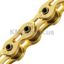 "KMC K710SL-TI Superlight BMX single speed bicycle chain 1/2"" X 1/8"" 100L GOLD"