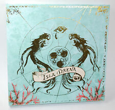 Disney Pirates of the Caribbean Isla Sirena Rotating Map Palette Duwop