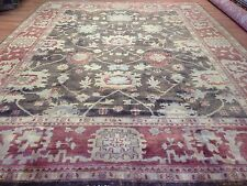 Oustanding Oushak - Turkish Design - Indian Hand-Woven Carpet  - 10.2 x 13.7 ft