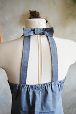 lovely Alive Girl tiny check gyaru mori fancy bow collar strappy grey dress12