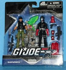 G I-JOE 50th Action Figures Hunt for Cobra Commander - Shipwreck vs. Cobra Com.