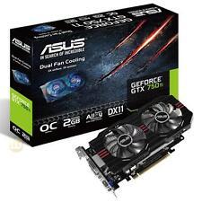nVidia Geforce GTX750 Ti 2GB GDDR5, Asus, D-Sub, DVI-D, HDMl,  GTX750TI-OC-2GD5