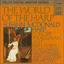 Susan Mcdonald - World Of The Harp [CD New] SHIPS FAST/FREE    #14