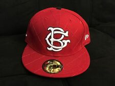 BENNY GOLD DIAMONDS NEW ERA FITTED HAT RED 7 5/8 supreme the hundreds