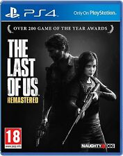 THE LAST OF US REMASTERED PS4 Game (PRE OWNED) (USED) Excellent Condition