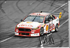Marcos Ambrose SIGNED 12x8, Penske/DJR Ford Falcon FGX Clipsal 500 Adelaide 2015