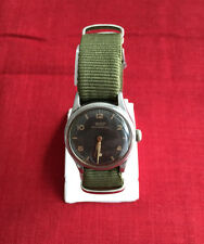 Vintage Military Tissot Men's Watch Sub-dial Stainless Steel