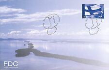 Finland 2002 FDC - Finland's Flag - Issued Jan 1, 2002