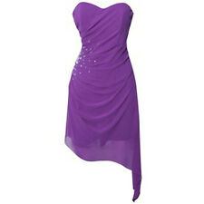 BNWT Stunning Lipsy Purple Fishtail Embellished Size 10 £60 Cocktail Party Dress