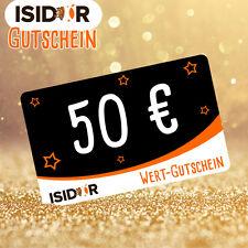 ISIDOR Einkaufsgutschein Wert 50€ Spielturm Baumhaus Gutscheincode per E-Mail