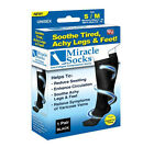 New Miracle Sock Casual Anti Fatigue Compression Socks As Seen On TV (NO BOX)