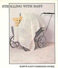 Baby's Lacy Carriage Cover Crochet Pattern