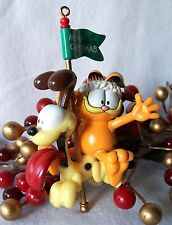 Paws 20 years of Garfield Ornament 1996 Garfield with Odie Carousel