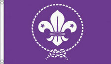 3' x 2' SCOUTS FLAG Cubs World Boy Scout Movement Girl Scouting