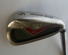 Wilson Di7 6 IRON True Temper TX105 FS Uniflex Steel Shaft  Wilson Staff Grip