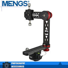 MENGS PH-720A 720° Panoramic Ball Head Kit + DH-60 Ball Head For All DSLR Camera