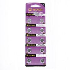 10 pcs TIANQIU AG6 371A 371 370 SR69 LR920 SR920 SR920SW Alkaline Watch Battery