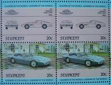 1971 MASERATI GHIBLI COUPE Car 50-Stamp Sheet / Auto 100 Leaders of the World