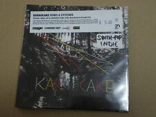KARAOCAKE Rows & Stitches CD CLAPPING MUSIC 2010 Sealed SYNTH POP INDIE