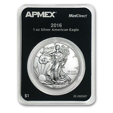 2016 1 oz Silver American Eagle (MintDirect® Single) - SKU #92507