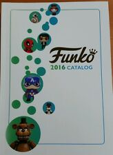 Funko 2016 Catalog Catalogue Pop Vinyl Bobble Head Book