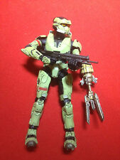 Halo figure Halo 3 OLIVE GREEN EOD SPARTAN WITH SHOTGUN AND SHIELD