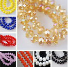 HOT SELL!! Wholesale New Multicolor Crystal Loose Beads 6x8mm / 4x6mm