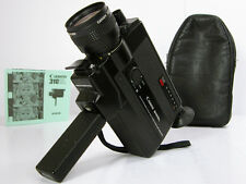 CANON Super 8 MOVIE CAMERA W/Instructions  Great Film Student Camera