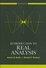 Introduction to Real Analysis by Bartle, Robert G.; Sherbert, Donald R.