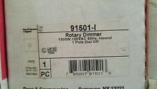 Pass & Seymour  91501-I DIMMER ROTARY 1500W 1 POLE IVORY
