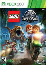 NEW LEGO Jurassic World (Microsoft Xbox 360, 2015)
