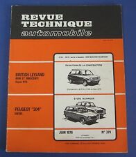 Revue technique automobile RTA 379 Peugeot 304 diesel
