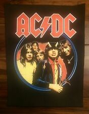 AC/DC Backpatch Highway to Hell Kutte Aufnäher Tour RAR Metal Rock ACDC Wacken