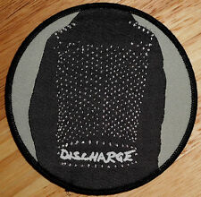 """EXTREMELY RARE DISCHARGE PATCH!!! ONLY 50 MADE!!! anti cimex,disclose,why,7"""",lp"""
