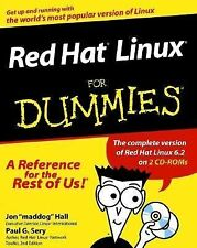 Red Hat Linux For Dummies, Sery, Paul G., Hall, Jon, Good Book