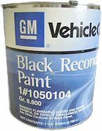 GM Restoration Chassis Paint #1050104 Correct Factory Sheen /Gloss *FREE SHIP*