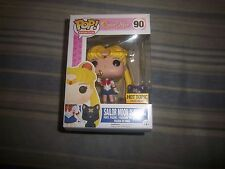 RARE Funko Pop Sailor Moon w/ Moon Stick and Luna Anime Hot Topic Exclusive